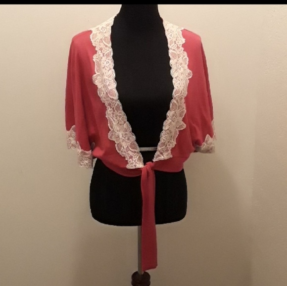 Pretty Pink with lace cover up b3eac4bf0